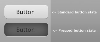buttons in a 2d interface
