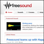 Thumbnail image of: Freesound