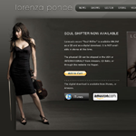 Thumbnail image of: Upcoming website for violinist Lorenza Ponce